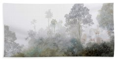 Nebbia Nella Foresta Hand Towel