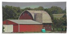 Nebraska Farm Life - The Family Farm Hand Towel
