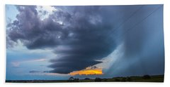 Nebraska Supercell 025 Bath Towel