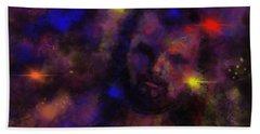 Nebula Rider Hand Towel
