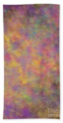 Bath Towel featuring the mixed media Nebula by Writermore Arts