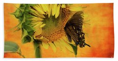 Nectar Time Hand Towel by Geraldine DeBoer