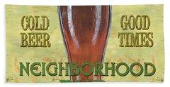 Neighborhood Pub Hand Towel