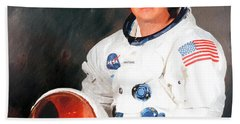 Neil Armstrong Hand Towel
