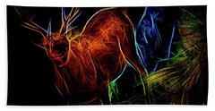 Neon Buck Bath Towel