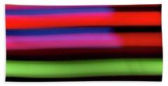 Neon Stripe Hand Towel