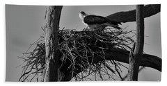 Nesting V2 Bath Towel by Douglas Barnard