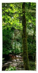 Nestucca River 3039 12x18 Hand Towel by Jerry Sodorff