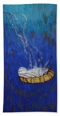 Nettle Jellyfish Hand Towel