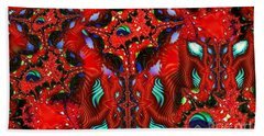 Neuron Cluster Bath Towel