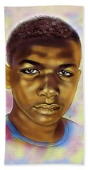 Never Forget Trayvon Bath Towel