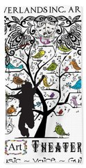 Neverlands Inc. Arts Poster Hand Towel