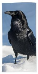 Nevermore Bath Towel by Jack Bell