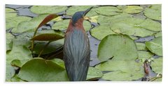 Nevis Bird Observes Bath Towel