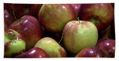 New Apples Hand Towel by Joseph Skompski