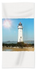 New Brighton Lighthouse Bath Towel