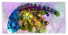 New Composition  Bath Towel by Don Wright
