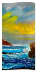 New Day In Paradise Hand Towel