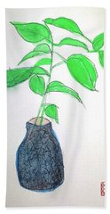 New Growth New Beginnings Hand Towel