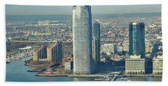 New Jersey Skyline Bath Towel