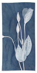 Bath Towel featuring the photograph New Openings In Slate by Leda Robertson