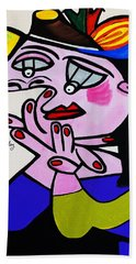 New Picasso  Bug Eye Hand Towel