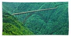 New River Gorge Bridge Hand Towel