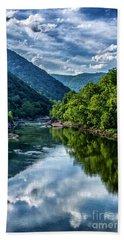 New River Gorge National River 3 Bath Towel