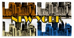 New York 4 Color Hand Towel
