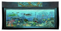New York Aquarium Towel Version Bath Towel