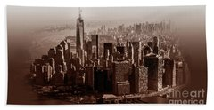 New York Architecture 1 Hand Towel