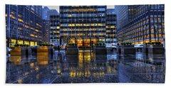 New York Blues Bath Towel