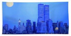 New York Blues Hand Towel