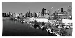 New York City-5 Bath Towel by Nina Bradica