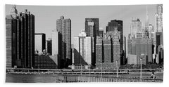 New York City-7 Hand Towel by Nina Bradica