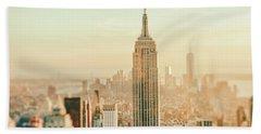 New York City - Skyline Dream Bath Towel