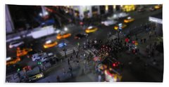 New York City Street Miniature Hand Towel