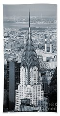 New York City - Usa - Chrysler Building Bath Towel