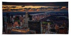 New York Gold Hand Towel