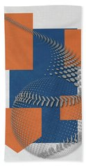 New York Mets Art Hand Towel
