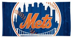 New York Mets Barn Door Hand Towel