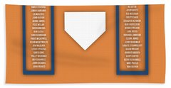 New York Mets Art - Mlb Baseball Wall Print Hand Towel