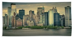 New York State Of Mind Bath Towel