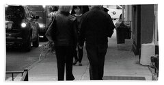 Hand Towel featuring the photograph New York Street Photography 75 by Frank Romeo