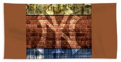 New York Yankees Brick 2 Hand Towel