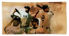 New York Yankees  Bath Towel by Gull G