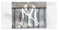 New York Yankees Rustic 2 Hand Towel
