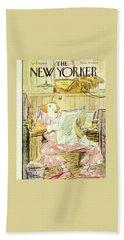 New  Yorker April 15 1950 Bath Towel
