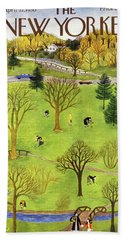 New Yorker April 22 1950 Bath Towel
