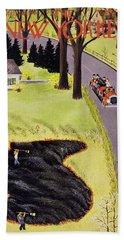 New Yorker April 24 1954 Bath Towel